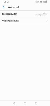 Huawei Y7 (2019) - Voicemail - handmatig instellen - Stap 8