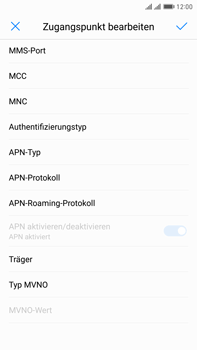 Huawei Mate 9 Pro - MMS - Manuelle Konfiguration - Schritt 12
