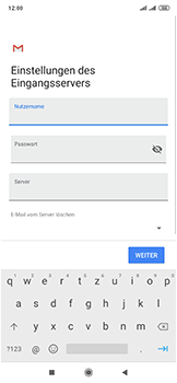 Xiaomi Mi Mix 3 5G - E-Mail - Manuelle Konfiguration - Schritt 14