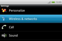 HTC A810e ChaCha - Internet - Manual configuration - Step 4