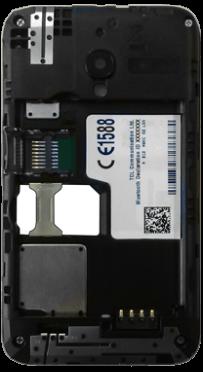 Alcatel OT-4009D Pixi 3 (3.5) - SIM-Karte - Einlegen - Schritt 5