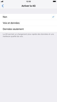 Apple iPhone 8 Plus - iOS 12 - Réseau - Changer mode réseau - Étape 7