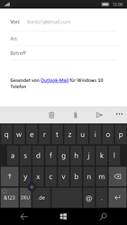 Microsoft Lumia 650 - E-Mail - E-Mail versenden - Schritt 5