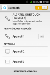 Alcatel Pixi 3 (3.5) - Bluetooth - Jumelage d