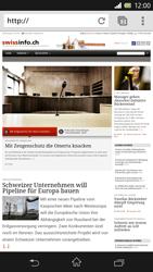 Sony Xperia Z - Internet und Datenroaming - Verwenden des Internets - Schritt 15