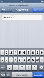 Apple iPhone 5 - WiFi - WiFi-Konfiguration - Schritt 6