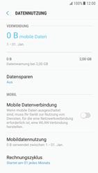 Samsung Galaxy S6 Edge - Android Nougat - Internet und Datenroaming - Prüfen, ob Datenkonnektivität aktiviert ist - Schritt 6