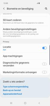 Samsung galaxy-s10-plus-dual-sim-sm-g975f - Beveiliging en ouderlijk toezicht - Hoe wijzig ik mijn SIM PIN-code - Stap 5