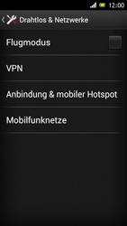 Sony Xperia J - Internet und Datenroaming - Manuelle Konfiguration - Schritt 5