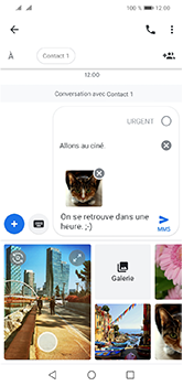 Huawei Y5 (2019) - Contact, Appels, SMS/MMS - Envoyer un MMS - Étape 19