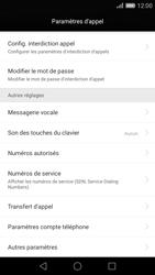 Huawei P8 - Messagerie vocale - configuration manuelle - Étape 6
