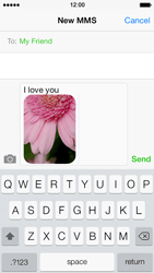 Apple iPhone 5s - MMS - Sending pictures - Step 12