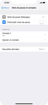 Apple iPhone XR - E-mail - Configuration manuelle - Étape 17