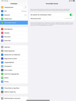 Apple iPad Pro 12.9 inch 4th generation (2020) (Model A2232) - WiFi - Mobiele hotspot instellen - Stap 8