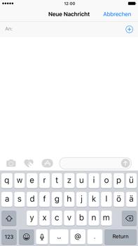 Apple iPhone 6 Plus - iOS 10 - MMS - Erstellen und senden - Schritt 6