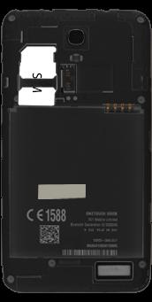 Alcatel Pop S3 - SIM-Karte - Einlegen - 0 / 0