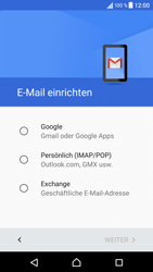 Sony F3111 Xperia XA - E-Mail - Konto einrichten (gmail) - Schritt 8