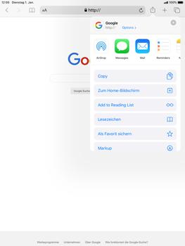Apple iPad Mini 4 - ipados 13 - Internet und Datenroaming - Verwenden des Internets - Schritt 6