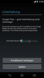Sony Xperia M2 - Apps - Konto anlegen und einrichten - 20 / 23