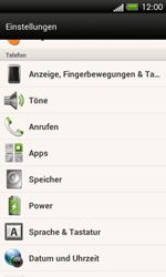 HTC One SV - Gerät - Zurücksetzen auf die Werkseinstellungen - Schritt 4
