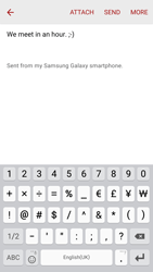 Samsung G920F Galaxy S6 - E-mail - Sending emails - Step 11