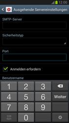 Samsung Galaxy S III LTE - E-Mail - Manuelle Konfiguration - Schritt 12