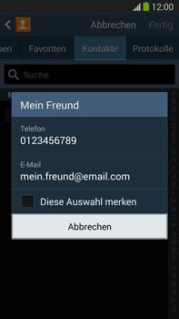Samsung N9005 Galaxy Note 3 LTE - MMS - Erstellen und senden - Schritt 9