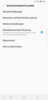 Samsung Galaxy Note9 - SMS - Manuelle Konfiguration - Schritt 6