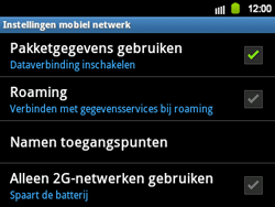 Samsung B5510 Galaxy TXT - Internet - Handmatig instellen - Stap 7