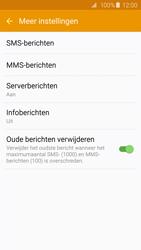 Samsung G925F Galaxy S6 Edge - SMS - handmatig instellen - Stap 7