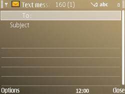 Nokia E72 - MMS - Sending pictures - Step 5