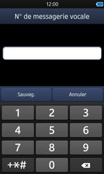 Samsung S8600 Wave 3 - Messagerie vocale - configuration manuelle - Étape 8