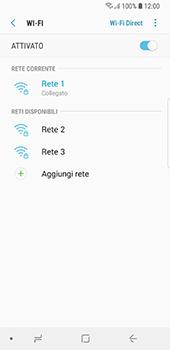 Samsung Galaxy S8 - Android Oreo - WiFi - Configurazione WiFi - Fase 9