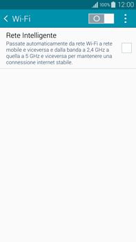 Samsung Galaxy Note 4 - WiFi - Configurazione WiFi - Fase 5
