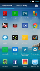 Alcatel One Touch Idol S - Netzwerk - manuelle Netzwerkwahl - Schritt 5