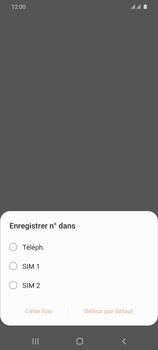 Samsung Galaxy S20 Ultra - Contact, Appels, SMS/MMS - Ajouter un contact - Étape 5