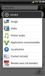 HTC S510e Desire S - MMS - envoi d'images - Étape 9