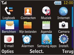Samsung S3570 Chat 357 - MMS - hoe te versturen - Stap 2