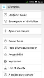 Alcatel OT-4027X Pixi 3 (4.5) - Téléphone mobile - réinitialisation de la configuration d