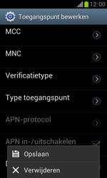 Samsung S7560 Galaxy Trend - Internet - Handmatig instellen - Stap 15