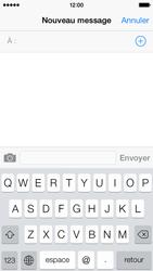Apple iPhone 5c - Contact, Appels, SMS/MMS - Envoyer un SMS - Étape 4