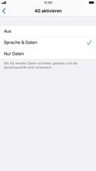 Apple iPhone 7 - iOS 13 - Netzwerk - So aktivieren Sie eine 4G-Verbindung - Schritt 7
