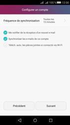 Huawei Huawei Y5 II - E-mail - Configuration manuelle - Étape 18