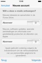 Apple iPhone 4 S - iOS 7 - apps - account instellen - stap 17