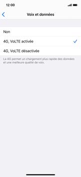 Apple iPhone XS - iOS 13 - Réseau - Activer 4G/LTE - Étape 7
