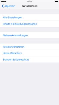 Apple iPhone 6 Plus mit iOS 9 - Fehlerbehebung - Handy zurücksetzen - Schritt 7