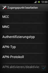 Sony Xperia E - MMS - Manuelle Konfiguration - Schritt 13