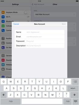 Apple iPad Retina iOS 7 - E-mail - manual configuration - Step 11