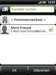HTC A3333 Wildfire - E-Mail - E-Mail versenden - Schritt 7