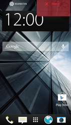 HTC One Mini - Getting started - Installing widgets and applications on your start screen - Step 8